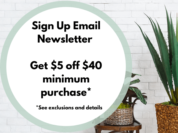 sign up email newsletter concinnity crafts get 5 off of 40 minimum purchase