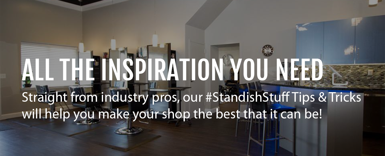 STANDISH - YOUR TRUSTED SALON, SPA AND BARBER EQUIPMENT PROVIDER