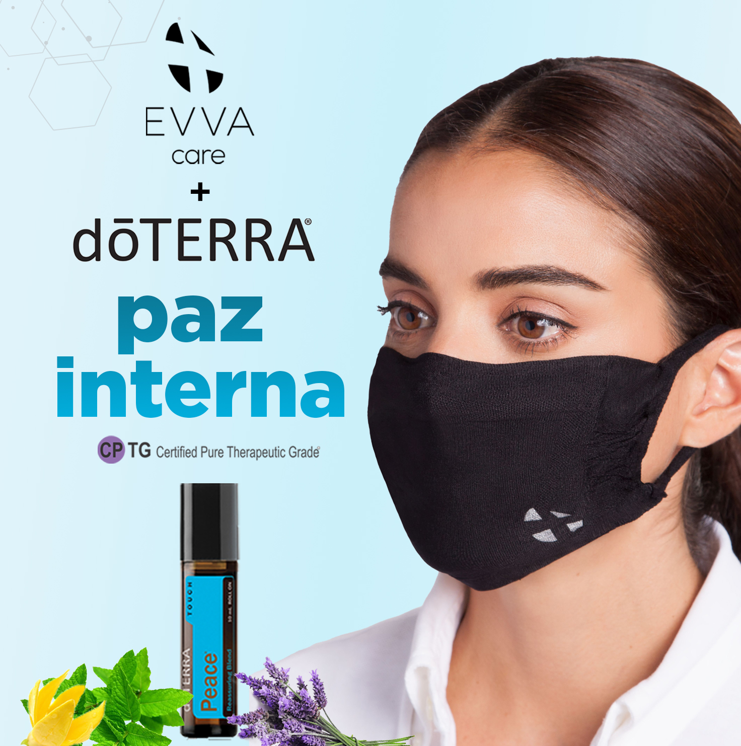 Evva Care featuring dōTERRA Peace by Evva Wear®