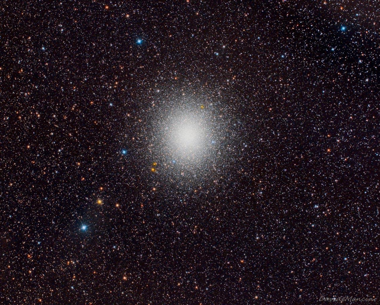 Omega Centauri by Davide Mancini Sharpstar 150 HNT 2.8 ZWO ASI2600MC Pro Optolong L-Pro SkyWatcher HEQ5