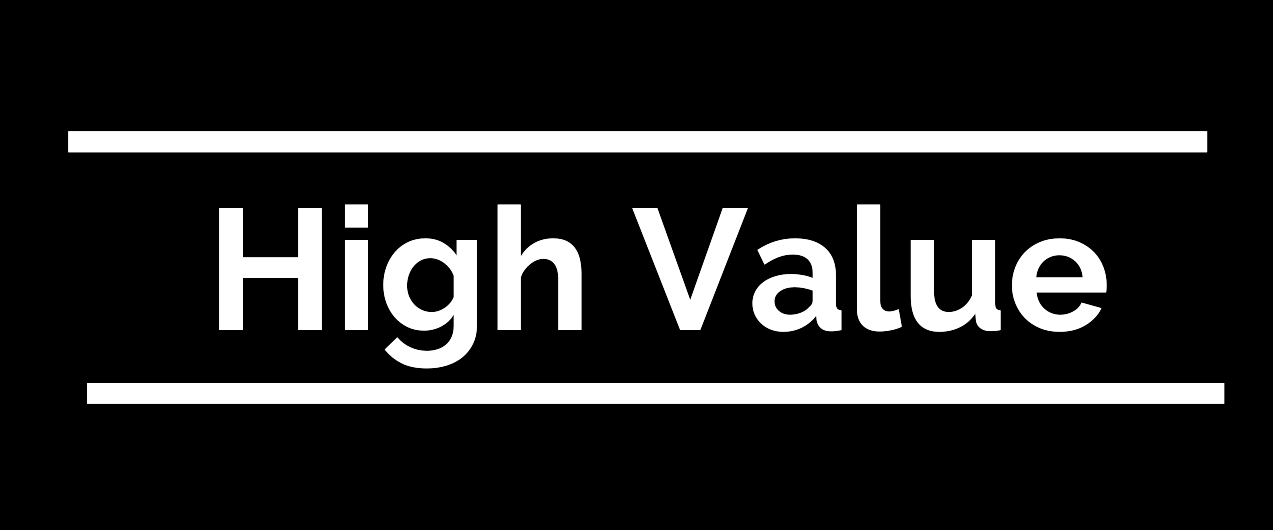 what is high value