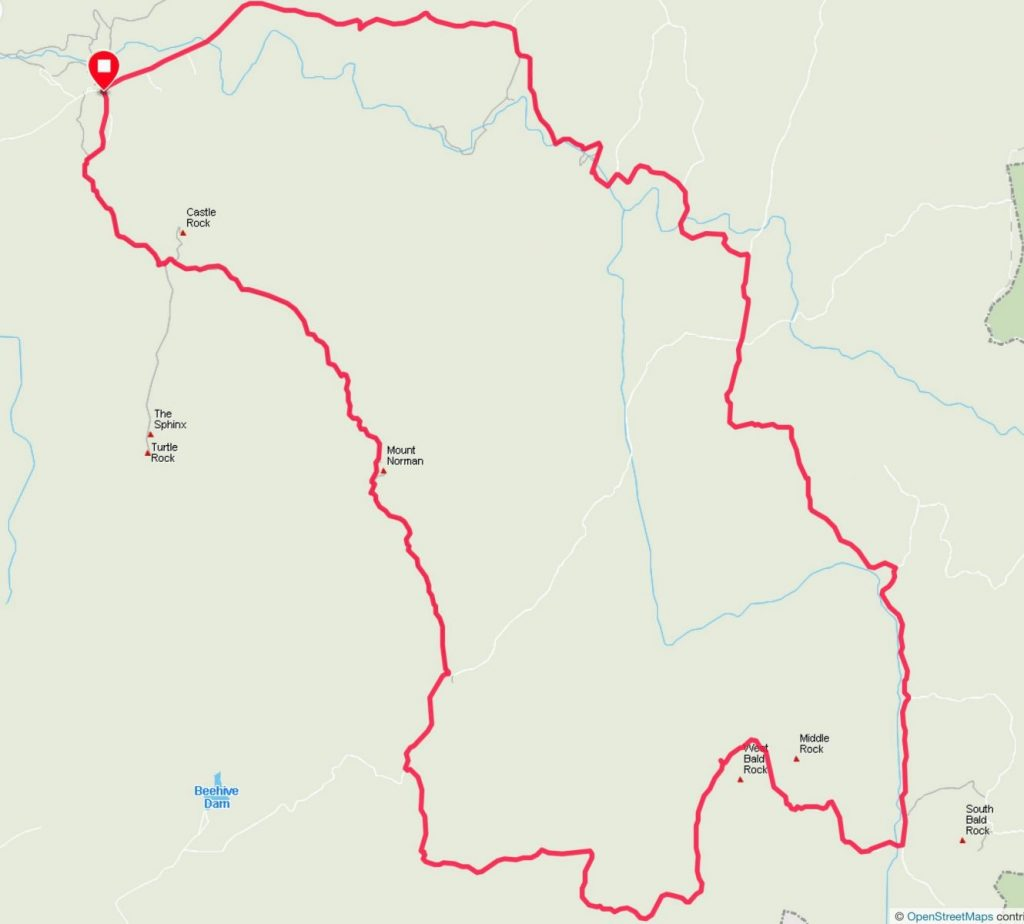trail running girraween map 1