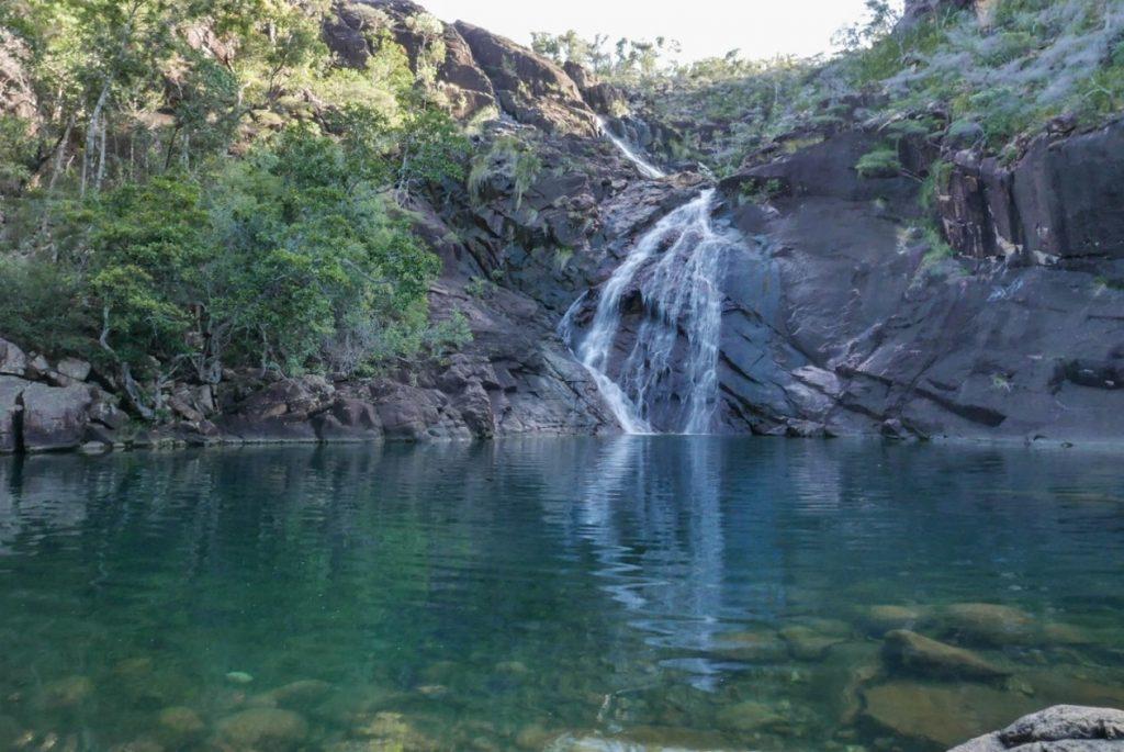 Zoe falls is a wonderful swimming spot!