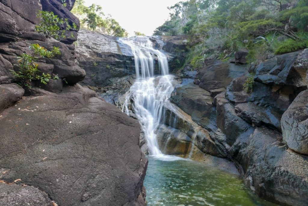 The cascades at Mulligans Falls