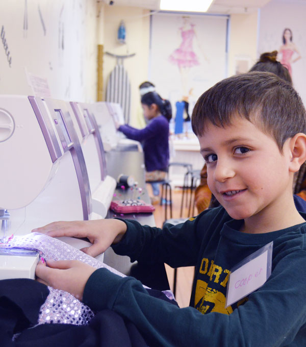 sewing party for children in ny