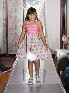 child on runway nyc