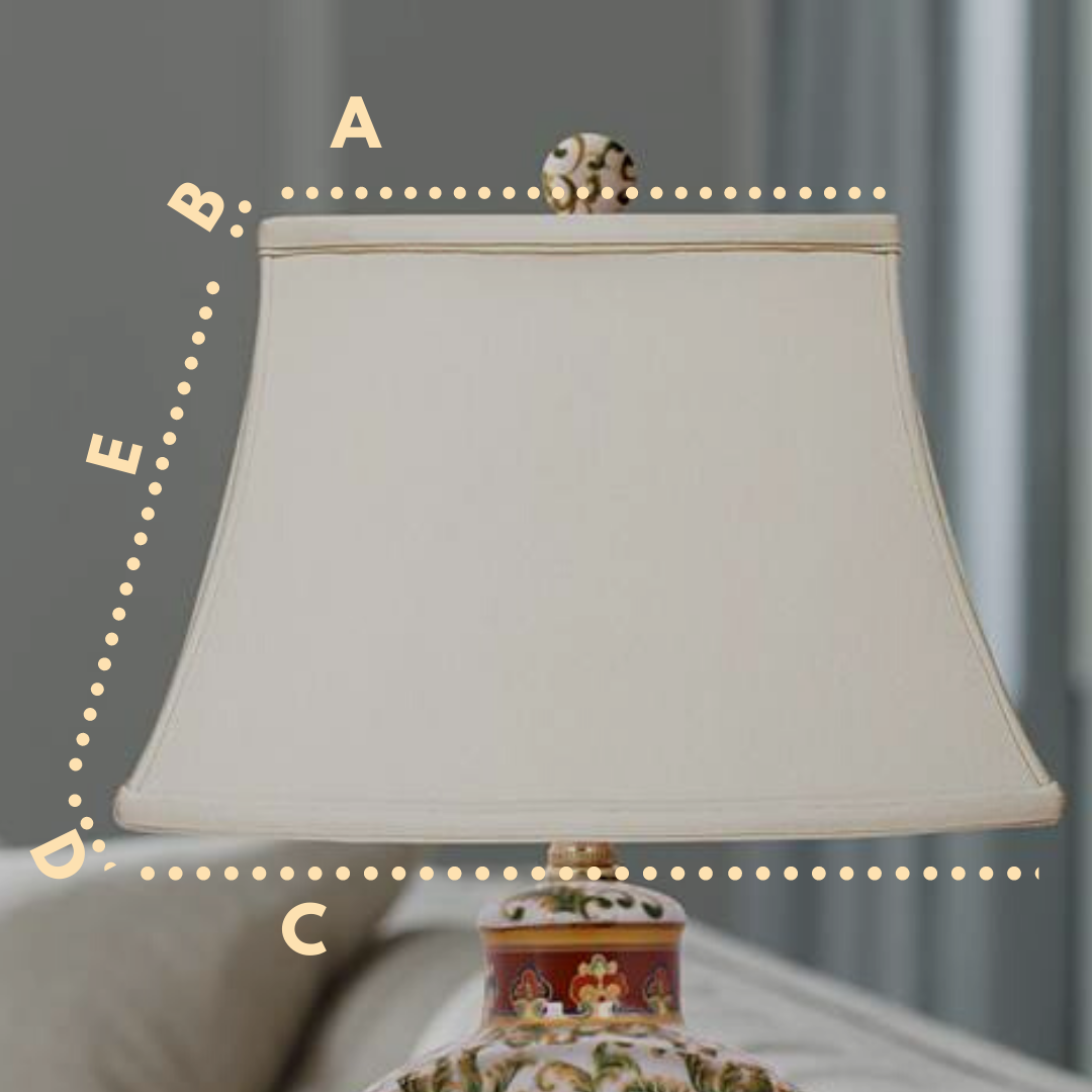 oriental lamp shade how to measure lampshade