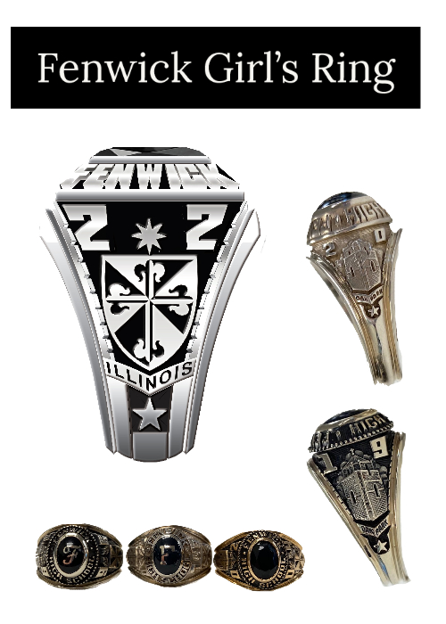 Fenwick high school girls ring