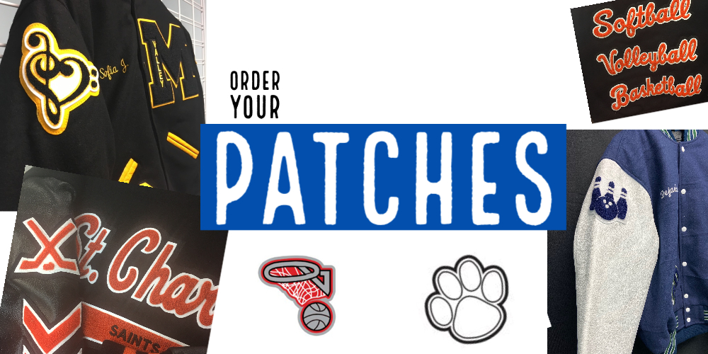 herff jones letter jacket patches