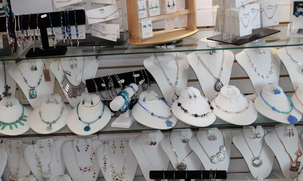 Glorias Gifts Jewelry at shop in Tarpon Springs Florida