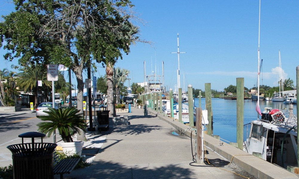 Sponge Docks Anclote River View