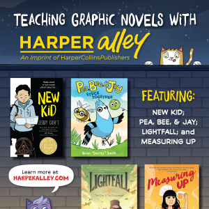 Teacher Graphic Novels with Harper Alley