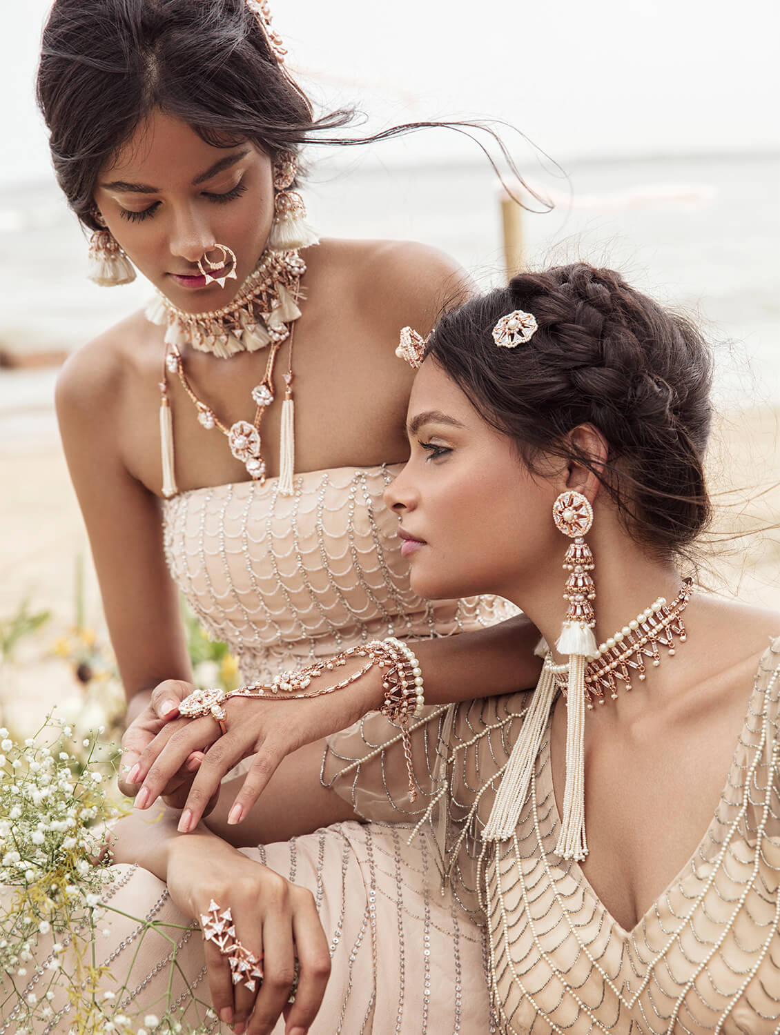 Handcrafted bridal jewellery